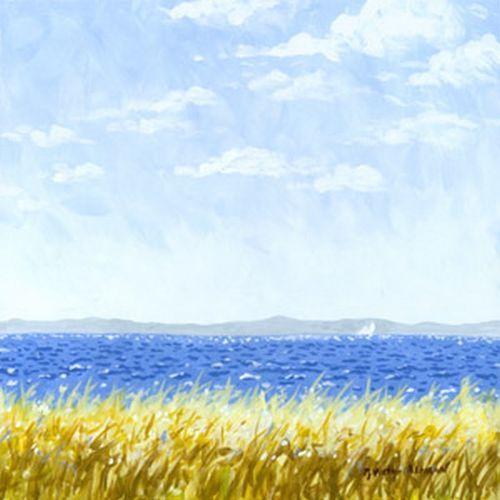 Earth, Sea and Sky Beach Print