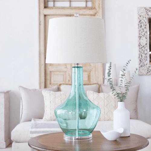 Easton Lamp in Aqua or Smoke
