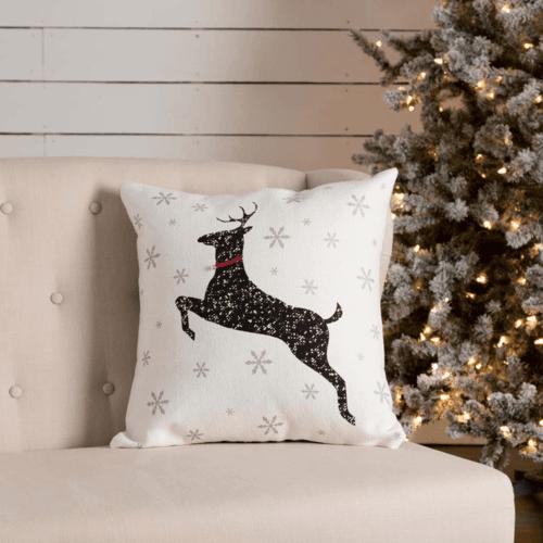 Emmie Reindeer Pillow