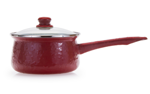 Enamel Five Cup Sauce Pan
