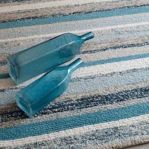 Fairfield Blue Hand Tufted Rug