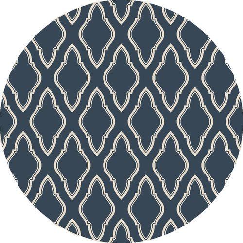 Fallon Marine Blue/Winter White Flat Pile Rug