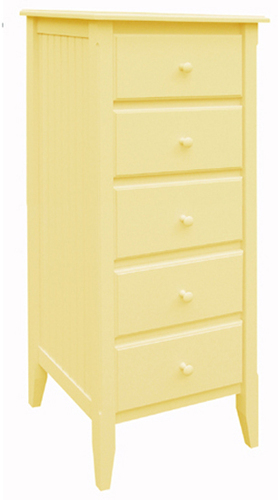 Five Drawer Lingerie Cabinet