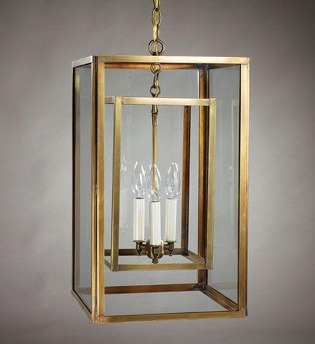 Foyer 3-Light Hanging Fixture - Large