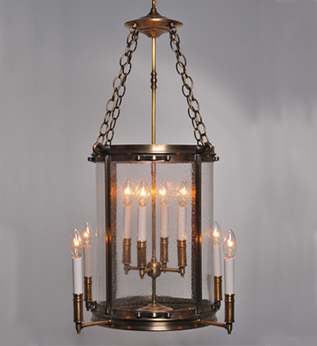 Foyer 8-Light Hanging Light Fixture <font color=a8bb25> Sold Out</font>