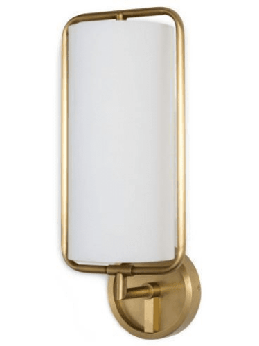Geo Sconce in Two Colors