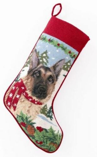 German Shepherd Christmas Stocking<font color =a8bb35> Sold out</font>