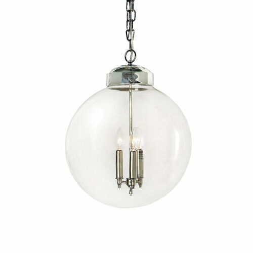 Globe Pendant in Two Colors