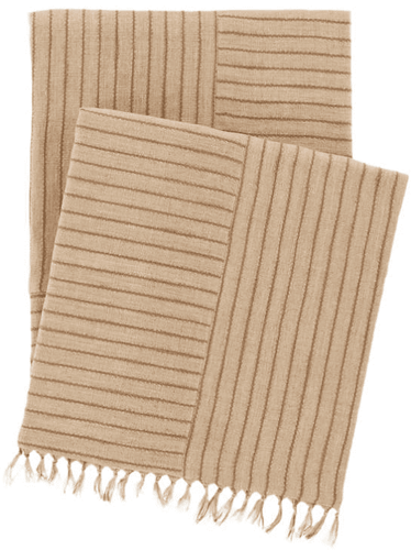 Gobi Linen Natural Throw