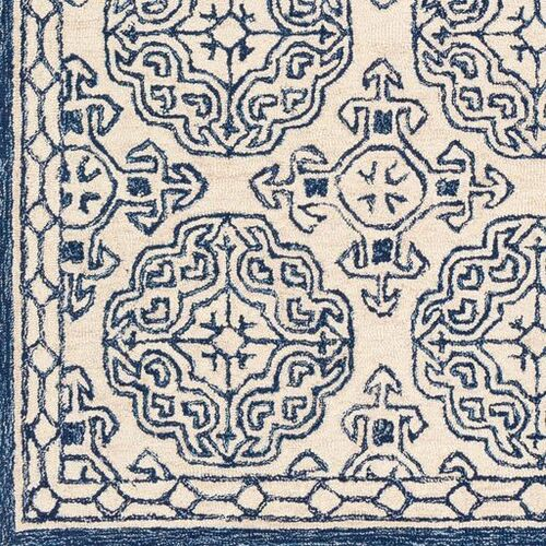 Granada Dark Blue Hand Tufted Rug