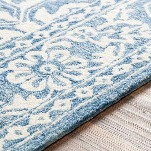 Granada Pale Blue Hand Tufted Rug