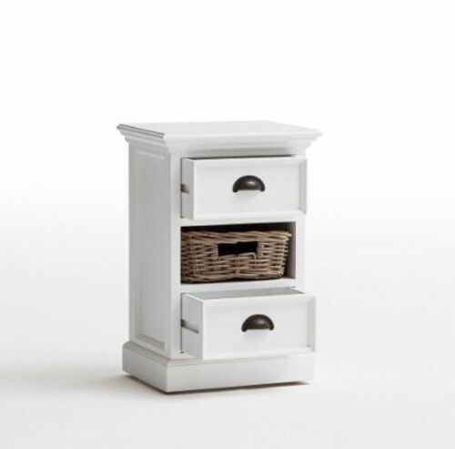 Halifax Bedside Table with basket