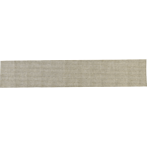 Harmony Ribbed Olive Green Table Runner