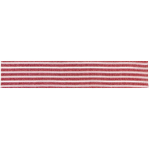 Harmony Ribbed Red Table Runner *Sold out