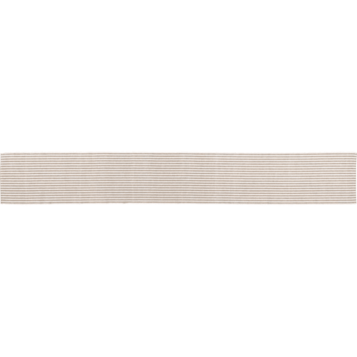 Harmony Ribbed Taupe Table Runner