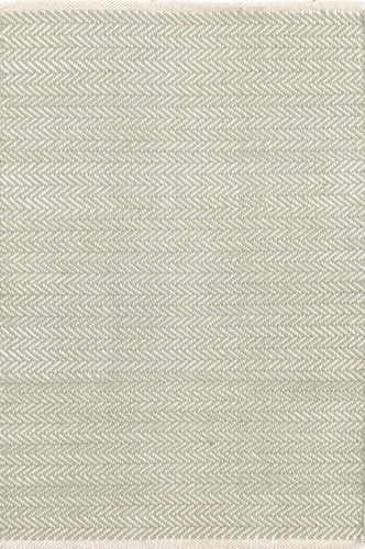Herringbone Ocean Cotton Woven Rug<font color=a8bb35> 20% off</font>