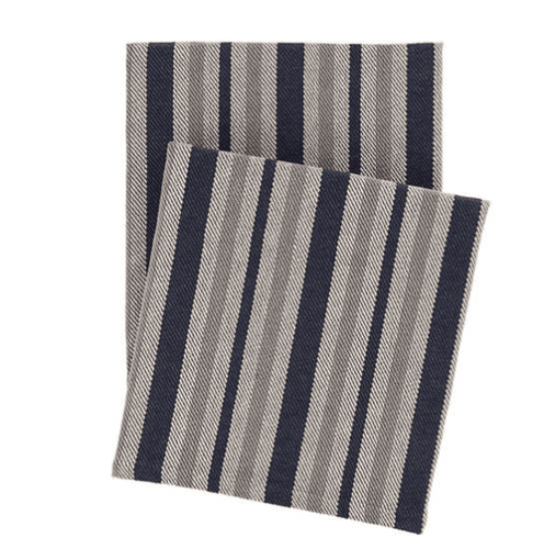 Herringbone Stripe Woven Cotton <font color=a8bb35> NEW</font>