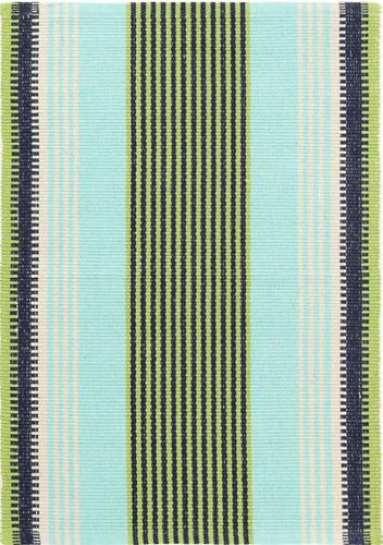 Hollis Stripe Woven Cotton Rug<font color=a8bb35> NEW</font>