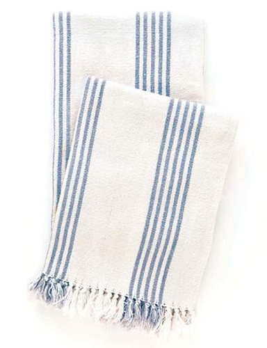 Ibiza French Blue Throw<font color=a8bb35> Backorder</font>