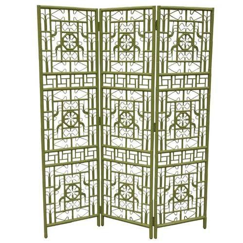 Indochine Rattan Folding Screen