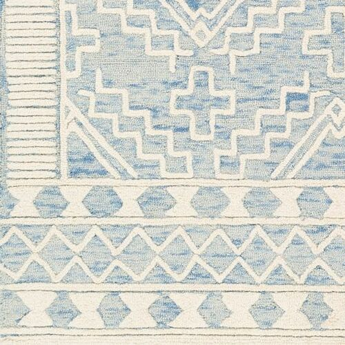 Izmir Light Blue Hand Tufted Rug