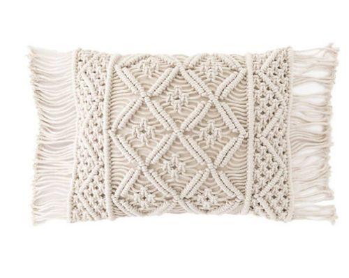 Jala Macrame Decorative Pillow