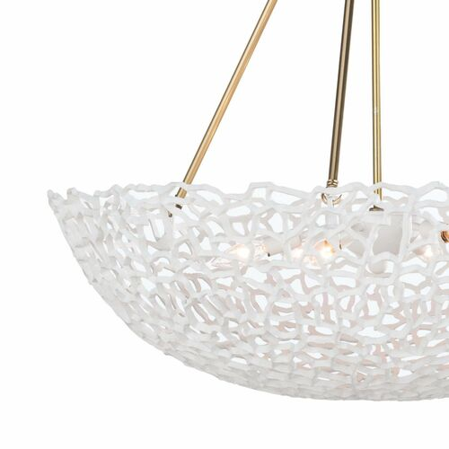 Jett Chandelier in White *Backorder