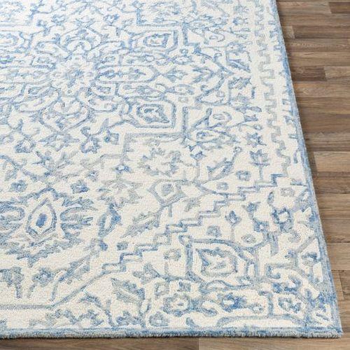 Kayseri Denim Ice Blue Hand Tufted Rug