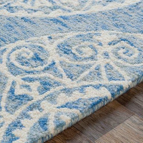 Kayseri Ice Blue Hand Tufted Rug