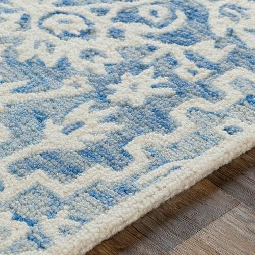 Kayseri Light Blue Hand Tufted Rug