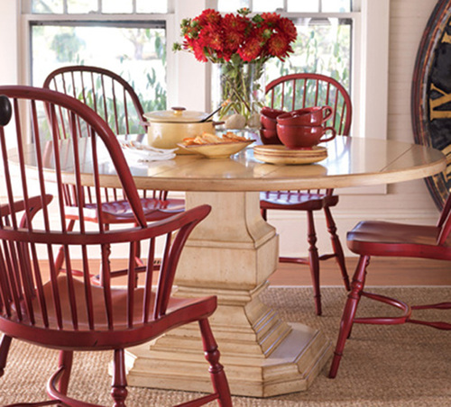 Killington Pedestal Dining Table in Three Sizes