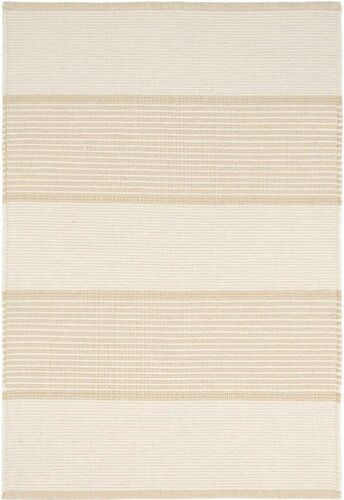 La Mirada Wheat Woven Cotton Rug