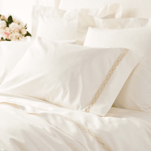 Lia Ivory Pillowcases