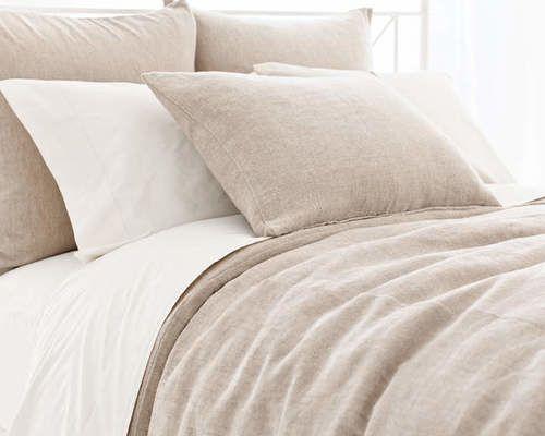 Linen Chenille Natural Duvet Cover 20% OFF