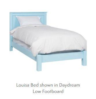 Louisa Cottage Panel Bed, Headboard or Platform Bed