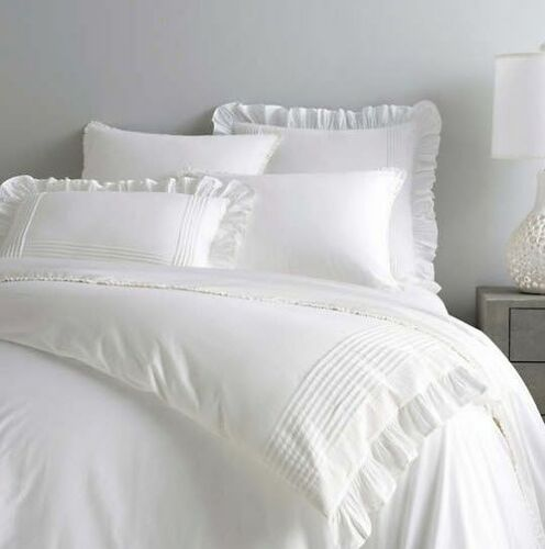 Louisa White Duvet Cover