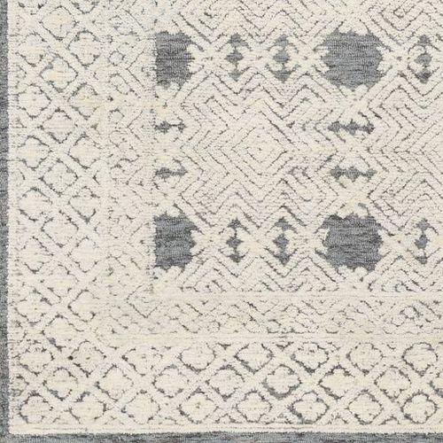 Louvre Denim Hand Tufted Rug