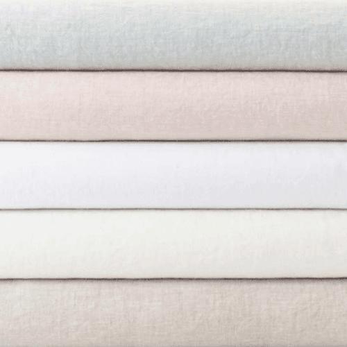 Lush Linen Sky Pillowcases