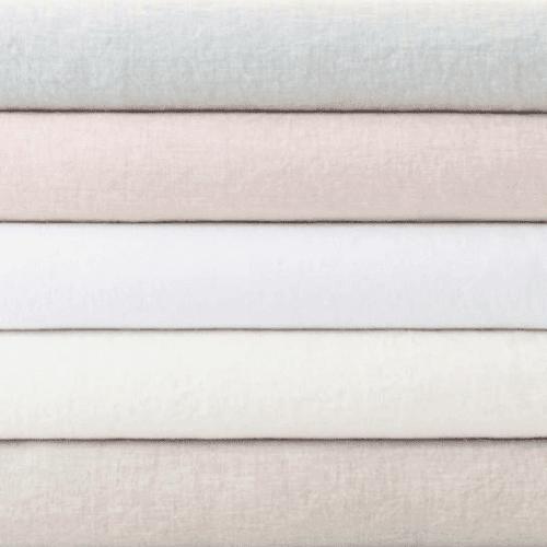 Lush Linen White Duvet Cover