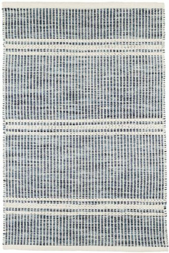 Malta Blue Woven Wool Rug *Backorder