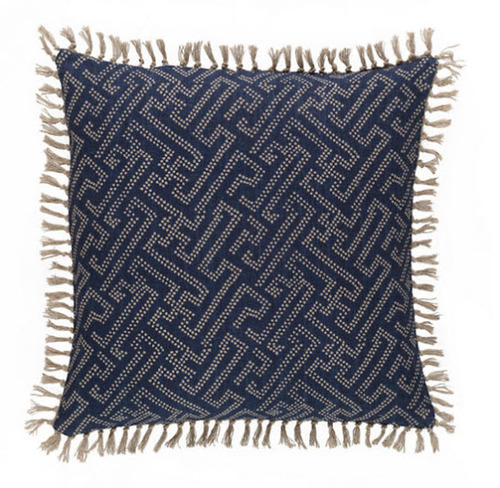 Marianna Greek Key/Chevron Pillow