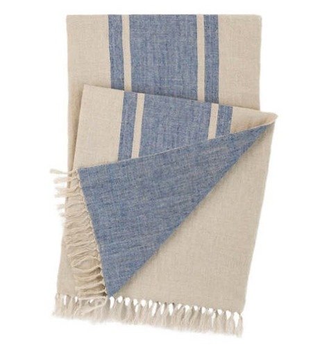 Maxwell Linen Throw