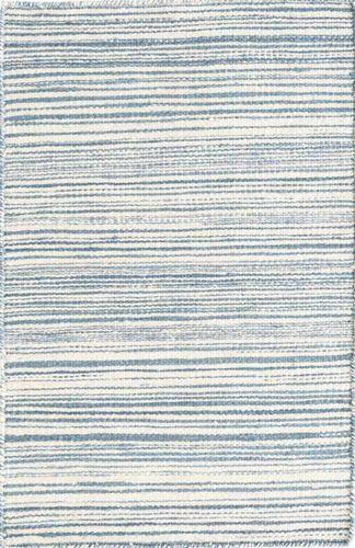 Melange Denim Linen Woven Rug