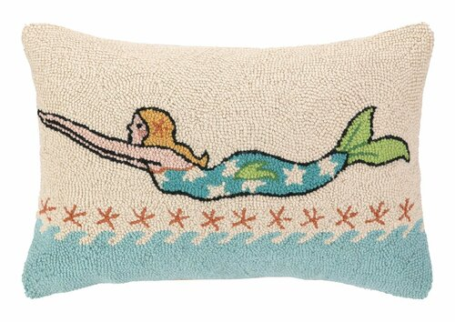 Mermaid Blonde Hook Pillow <font color=cf2317> Sold Out</font>