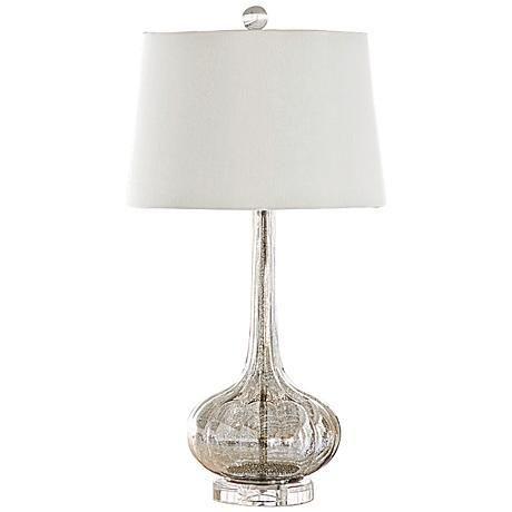 Milano Antique Mercury Glass Lamp