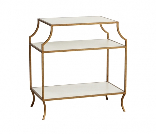 Milla Side Table with Shelf