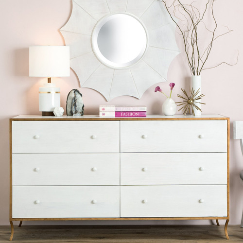 Milla Six Drawer Dresser