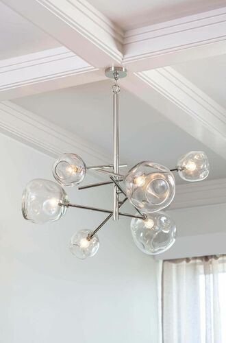 Molten Chandelier in Two Colors