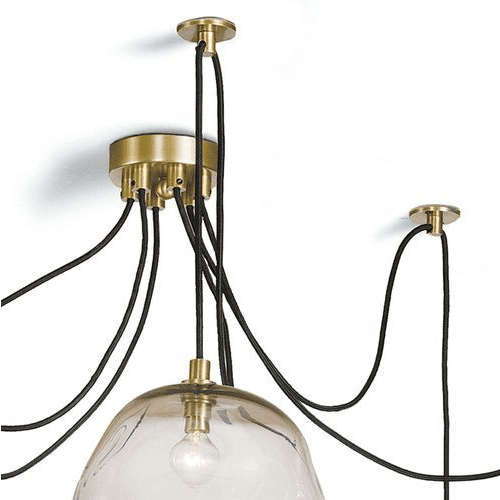 Molten Spider Chandelier in Two Colors