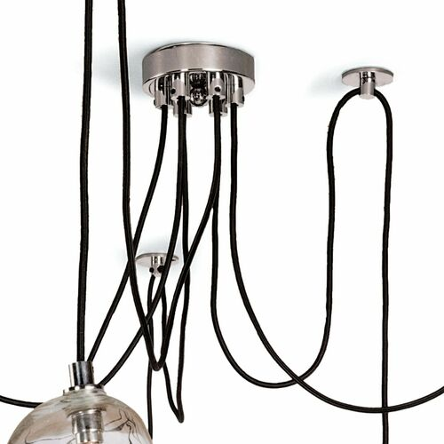 Molten Spider Chandelier Small in Two Colors